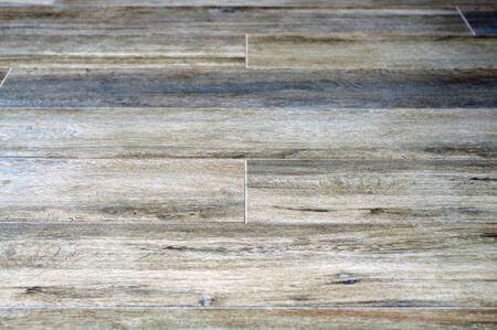 gray-blue laminate. wood floor texture horizontal. Stok Fotoğraf