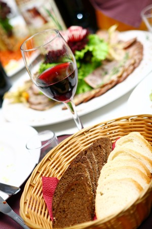 fresh and tasty food on the table Stock Photo - 7850770