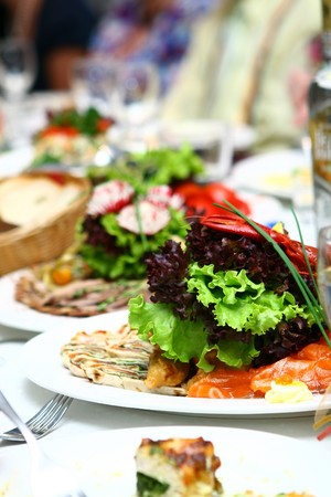 fresh and tasty food on the table Stock Photo - 7850749