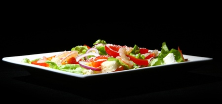 tasty and fresh salad food photo