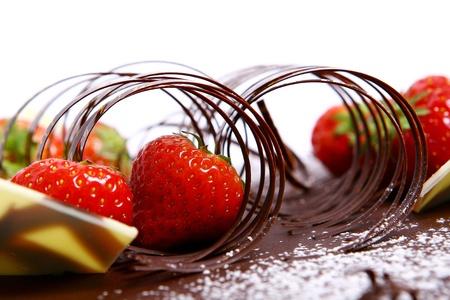 chocolate fruitcake Stock Photo - 8319915