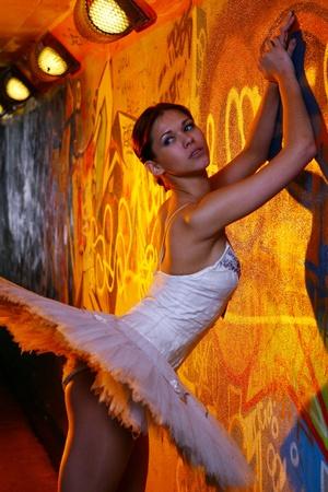 beautiful ballerina photo