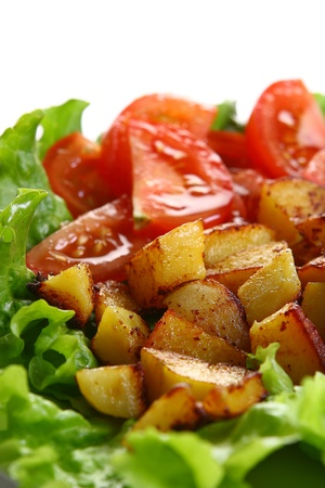 Meat plate with potatoe and souce Stock Photo - 8319909