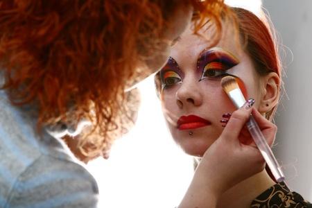 backstage: make up bachkstage