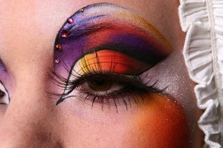 make up bachkstage Stock Photo - 8321179