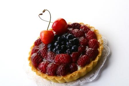 a fresh fruitcake with blueberry berry Stock Photo - 8319416