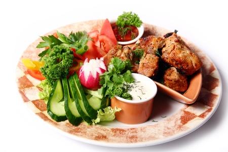 tasty and sweet main foods Stock Photo - 8319370