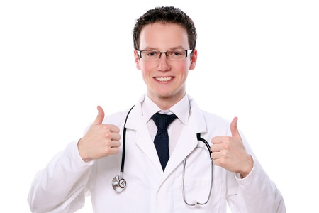 young student doctor assistant Stock Photo - 8611539