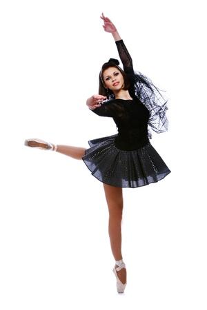 ballet dance: beautiful ballerina dance ballet dance
