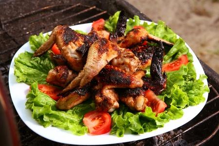 fresh grill bbq chicken lap photo