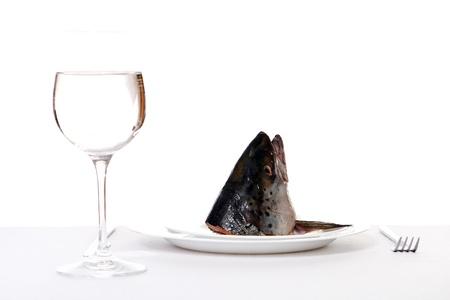 raw fish on tha table Stock Photo - 8445218