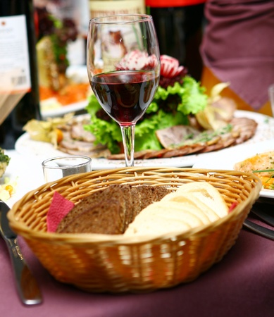fresh and tasty food on the table Stock Photo - 8445407
