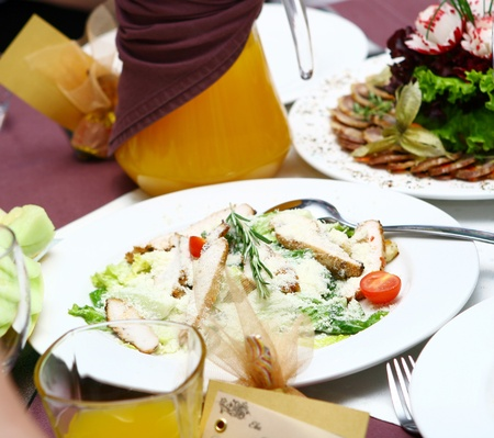 fresh and tasty food on the table Stock Photo - 8445238