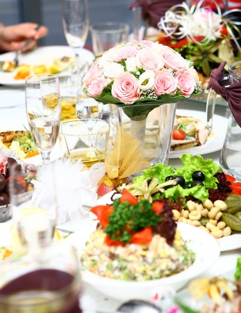 fresh and tasty food on the table Stock Photo - 8445633