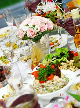 fresh and tasty food on the table Stock Photo - 8445646