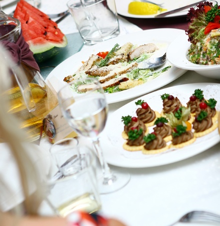 fresh and tasty food on the table Stock Photo - 8445391