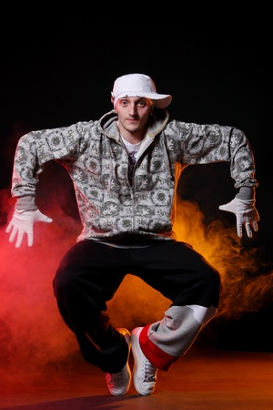 hip hop dancer in dance Stock Photo - 8733862