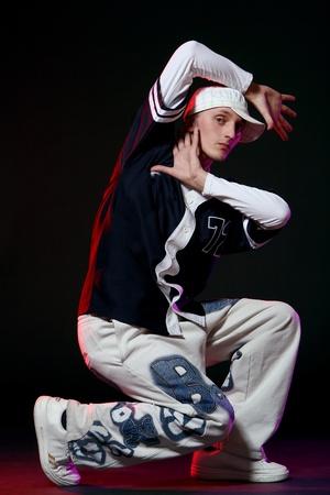 hip hop dancer in dance Stock Photo - 8733850
