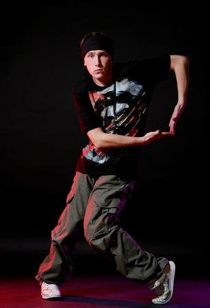 hip hop dancer in dance Stock Photo - 8733798