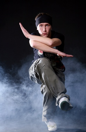 hip hop dancer in dance Stock Photo - 8733810