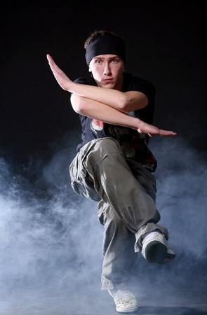 hip hop dancer in dance photo