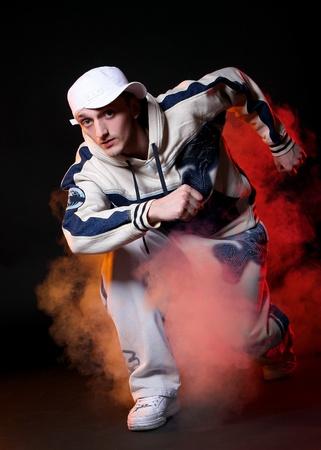 hip hop dancer in dance Stock Photo - 8733823