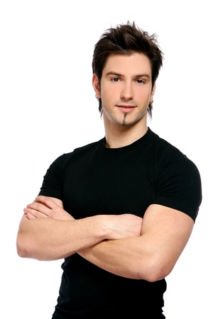 young and attractive business male photo