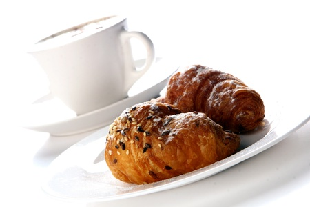 fresh and hot black coffee Stock Photo - 8445383