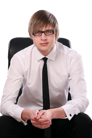 business man young and attractiv Stock Photo - 8673645