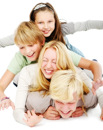 group of young and beautiful boys and girls Stock Photo - 9070449