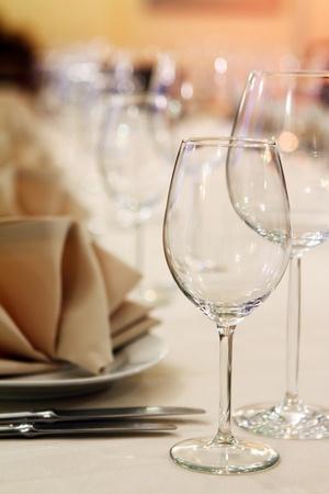 Photo of professional restaurant serving Stock Photo - 9070815