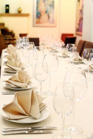 Photo of professional restaurant serving Stock Photo - 9070801