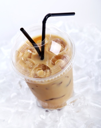 Cold coffee drink with ice Stock Photo - 9471278