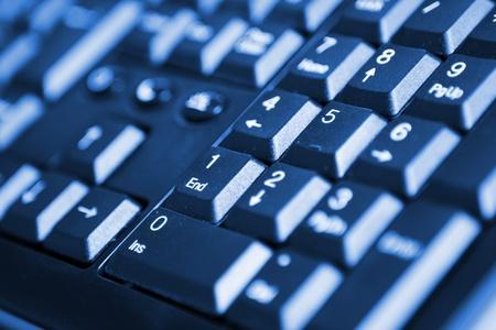 numpad: Closeup of keyboard numpad buttons