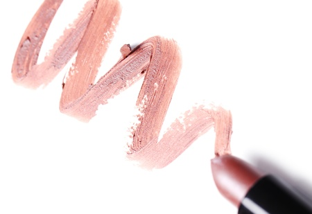 Close up of Lipstick with trace Stock Photo - 10883324