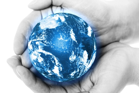 save the sea: Blue planet in human hands