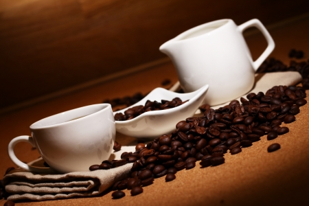 Cup of hot black coffe Stock Photo - 13800739
