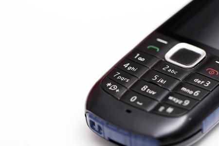 cel: Primo piano di semplice ed economico cel lphone