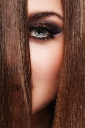 Young woman with beautiful  long hair Stock Photo - 14176236