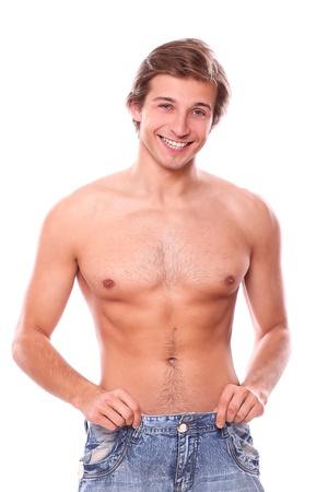 fatter: Handsome sexy man