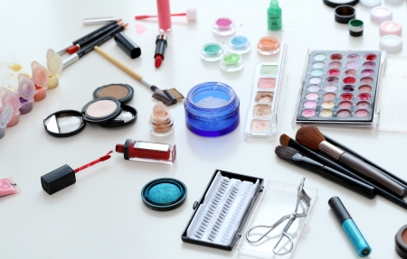 Make up items photo