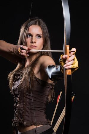 les arcs: Jeune fille a un hobby dangereux