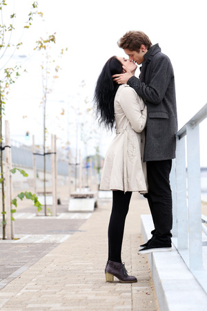 lovely couple: Lovely couple do love each other very well Stock Photo