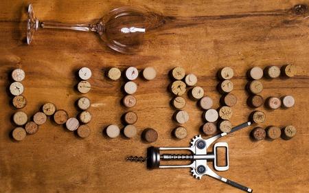 Wine cork collection photo