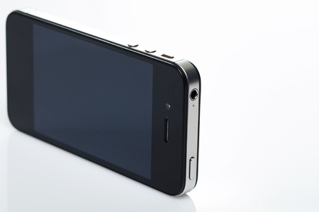 Technology  Smartphone on a white background photo