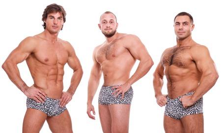 gay men: Mostrar, striptease. Chicos guapos con cuerpo sexy
