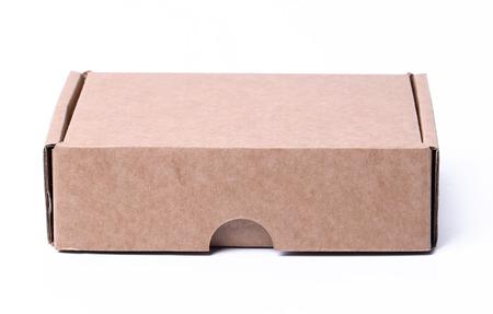 Carton box on a white background photo