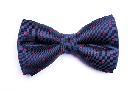 bows: Bow tie on a white background