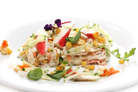 gastronomy: Gastronomy. Delicious food on a dish