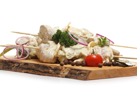 gastronomy: Gastronomy. Delicious food on the board Stock Photo